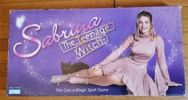 Sabrina The Teenage With Game 1997 Parker Brothers #40795 Complete Made In Usa - $15.00