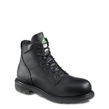 RED WING 3507 ELECTRICAL HAZARD BLACK LEATHER WORK BOOTS 107413 MENS SIZ... - $180.00