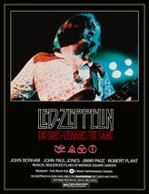 "Led Zeppelin ""The Song Remains The Same"" Movie Stand-Up Display - Rock M... - $15.99"