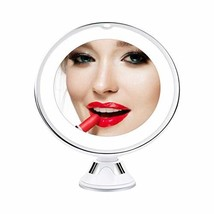 BeautyPad LED Mirror Makeup with 10X Magnification & 2 Color Lighting, P... - $26.00