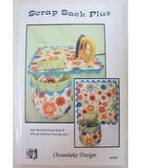 Oceanlake Design Scrap Sack Plus & Ironing Pad Pattern #965 Pincushion O... - $5.99