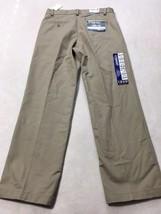 NWT Izod 30 x 30 American Chino Khaki Pants Flat Front Straight Fit Wrin... - $12.89