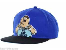 "BIO WORLD FAMILY GUY ""NO FAT CHICKS""  SNAPBACK CAP/HAT - OSFM - $18.99"