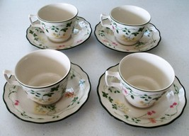 Royal Doulton Majestic Collection Southdown 4 Cups & Saucers - $49.99