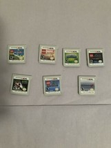 Lot Of 7 Nintendo 3Ds Games Cartridge Only Mariokart Luigi Mansion LEGO Marvel - $61.74