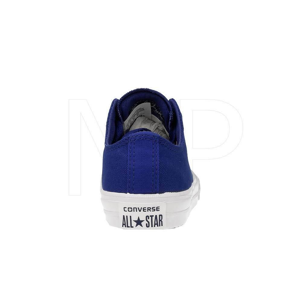 Converse All Star Chuck II Blue 350152C Preschool Shoes image 2