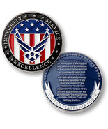 NEW USAF U.S. Air Force Oath of Enlistment Challenge Coin. - $13.99