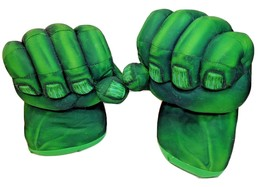 Hasbro Marvel Incredible Hulk Electronic Green Smash Hands with Sounds 2008 - $49.00
