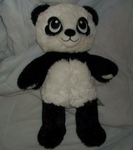 45.7cm Construir un Osito Harajuku Hugs Panda Heart Ojos Peluche Juguete de - $21.87