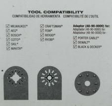 Milwaukee Product Number 48900025 Titanium Multi Tool Blade image 4