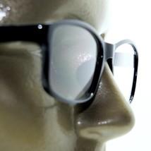 Reading Glasses Square Eyes Readers Bold Polished Black Frame +2.75 Lens - $26.00