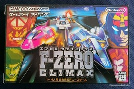 Used F-ZERO CLIMAX Game Boy Advance 2004 Nintendo Japan - $185.12