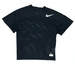 New Nike Mesh Flag Football Jersey Youth Boy's Large Black 854859 Dri-Fit - $13.37