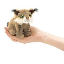 Folkmanis Mini Bobcat Finger Puppet - $12.17