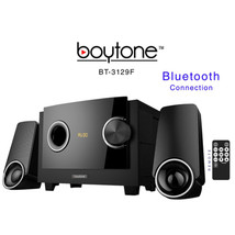 Boytone BT-3129F Wireless Bluetooth Speaker Powerful Bass System with FM - $51.80