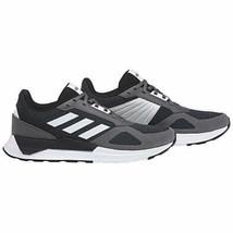 Nuovo Uomo Adidas Run 80S Corsa Atletico Scarpe Nero Carbone/Bianco/Grigio - $34.90