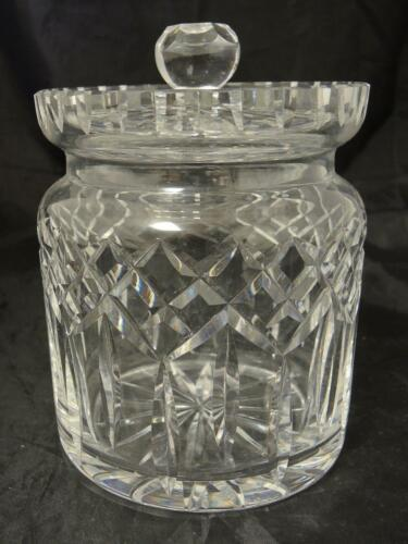 Primary image for Waterford Crystal Biscuit Barrel With Lid - Lismore Pattern