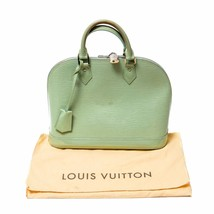 Authentic Louis Vuitton Epi Leather Pista / Green Alma Tote Bag with Lock n Key - $742.09