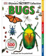 Ultimate Factivity Collection Bugs DK 500 Stickers Create Learn Draw Fun - $14.85