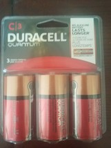 Duracell 66516  C Quantum Alkaline  Battery Pack of 3 - $18.69