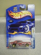 HOT WHEELS- '68 COUGAR- HOT WHEELS ANIME 3/5- NEW ON CARD- L15 - $3.30