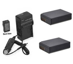 2X Batteries + Charger For Canon Eos Rebel T5 Eos 1200D Eos Rebel T3 Eos 1100 - $30.53