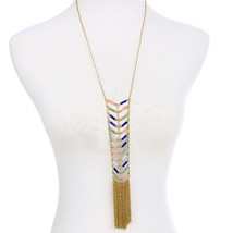 Metal Tassel Necklaces & Pendants From Indian Vintage-Accessories Women - $23.68