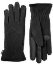 Isotoner Signature Women's Fleece Touchscreen Gloves (Black) - $26.73