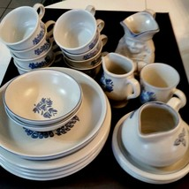 Pfaltzgraff Blue Yorktowne Plate Bowl Cup Replacement Pieces Sold Individually - $4.94+