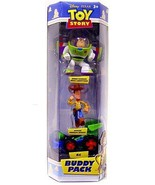 TOY STORY SPACE BUZZ LIGHTYEAR ACTION, SHERIFF WOODY, RC 3 PACK - $23.99