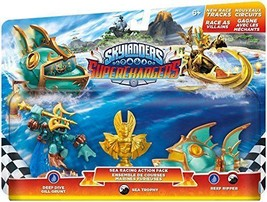 NIB Skylanders Superchargers Sea Racing Action Pack Gill Grunt Trophy Re... - $12.60