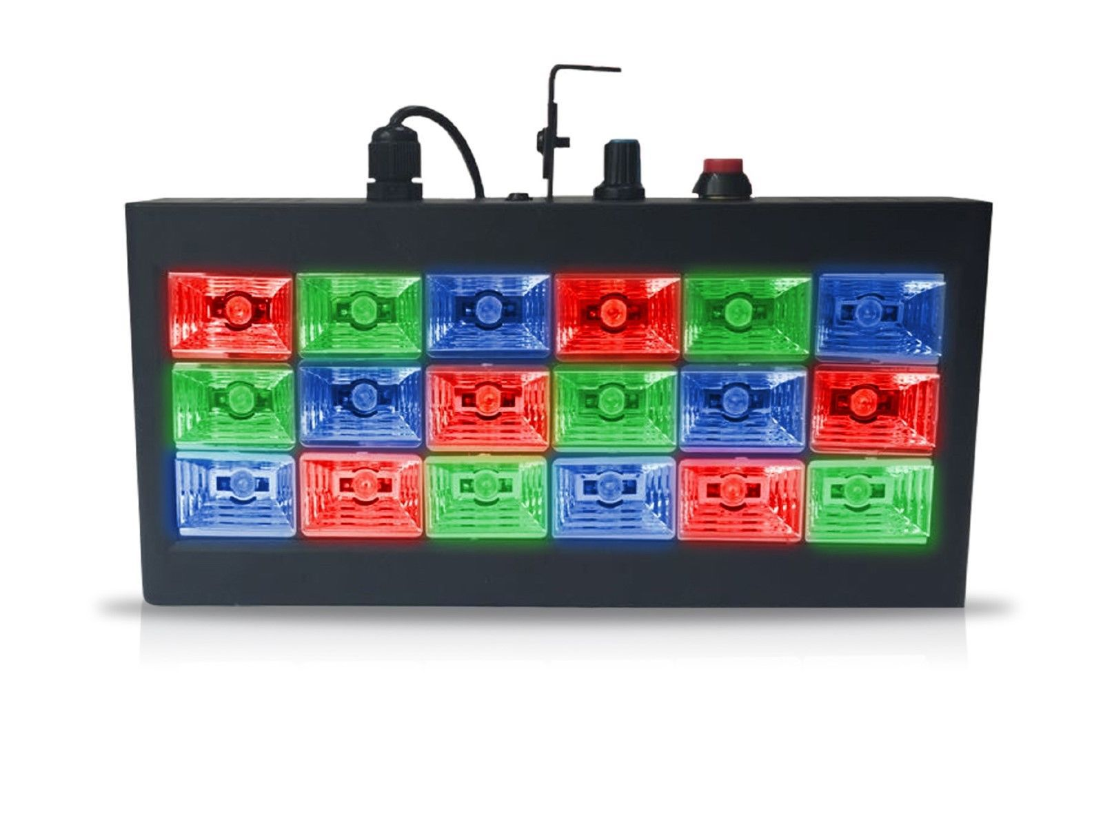 Technical Pro Strobe Series - LED Lights - STRB18c - Sound Active or Auto Switch