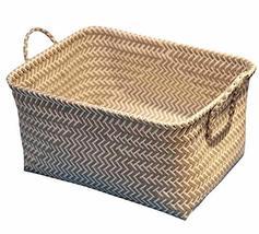 Black Temptation Useful Storage Containers Household Storage Basket Laun... - £24.20 GBP