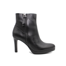 NATURALIZER Tiana Womens Leather Bootie Ankle Boot Black Leather Size  7.5W - $104.49