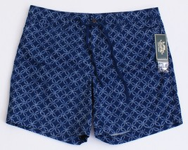 Lauren Jeans Co. Ralph Lauren Blue Pattern Casual Shorts Women's NWT - $52.49