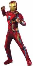 Iron Man Captain America Civil War Superhero Halloween Deluxe Child Costume - $48.53