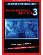 Paranormal Activity 3 (2 Discs/DVD/Br/Dc/Uv/DVD Amaray)