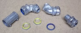 Assorted Conduit Fittings 1/2in Lot of 7 - $9.05