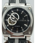 Puredial Powersphere PDPSL3000, Leather Band, NH39 Automatic; MSRP $500 - $269.10