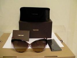 Tom ford New Sunglasses Womens Madison tf 253 50Z 63/10 cat eye - $197.95