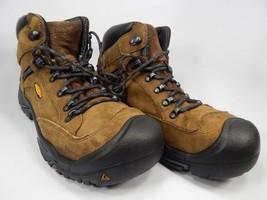 Keen Braddock Mid AL Size 11 M EU 44.5 Men's Slip Resistant Steel Toe Work Boots