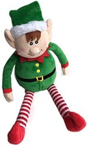 Checkered Fun Christmas Plush Elf - Christmas Holiday Decor - Cute Xmas ... - $16.86
