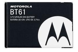 Motorola OEM BT61 BATTERY FOR Q9 Q9m Q9h V325 V323 V360 I880 I885 KRZR K1m - $5.61