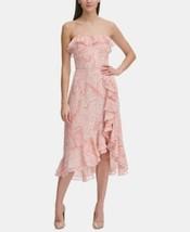 Tommy Hilfiger Paisley Chiffon Ruffle Dress Size 16 - $33.66