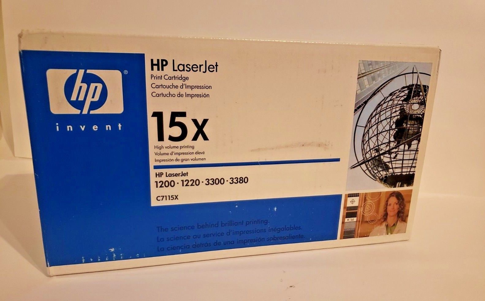 New GENUINE HP LASERJET 15X BLACK TONER C7115X