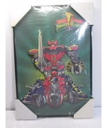 Power Rangers Mighty Morphin 3D Poster - Placo Toys Taiwan NEW 1993 - $43.53