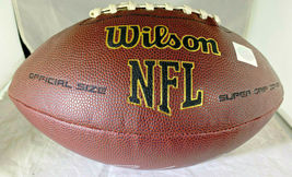 DAN MARINO / AUTOGRAPHED FULL SIZE NFL LOGO WILSON BRAND FOOTBALL / MARINO HOLO image 2