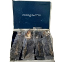 Vintage Reed & Barton Harlequin Hostess Set Supersilver Silverplate 4 piece - $59.98