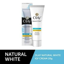 Olay Natural White Instant with UV Protection Fairness Cream 20 gm - $8.20