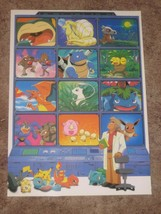 Rare Japanese Pokemon Catch 'em All Wall Poster #SS1260 - $14.84